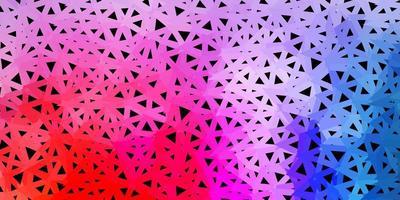 papel tapiz poligonal geométrico de vector multicolor claro.