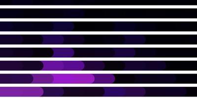 plantilla de vector púrpura oscuro con líneas.