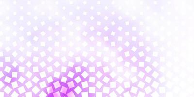Fondo de vector púrpura claro con rectángulos.