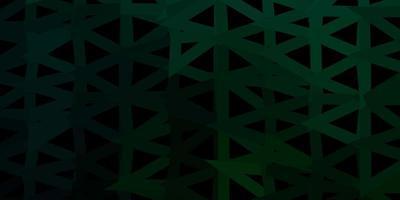 papel tapiz poligonal geométrico vector verde oscuro.