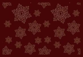 patrón transparente de vector sobre el tema de invierno.