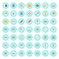 Icon Set Of Search Engine Optimization For Personal And Commercial Use... vector