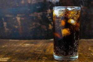 Close-up of a cola photo