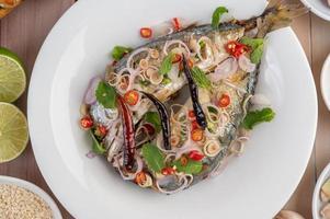 Deep fried mackerel