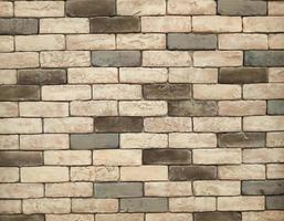 Gray white brick background