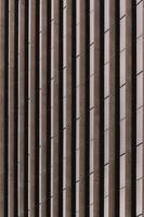 Abstract brown and black brick wall