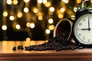 Coffee mug on the desk