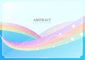 Abstract background full of color vector