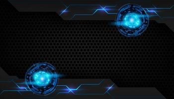 Fondo de cromo futurista abstracto vector