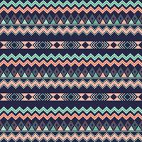 Aztec tribal seamless pattern geometric elements