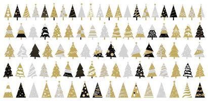 diseño de árbol de navidad vector
