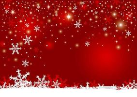 Christmas background design of snowflakes