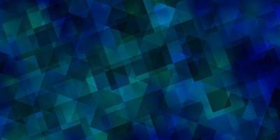 Fondo de vector azul claro con triángulos.