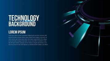 Abstract technology background Hi-tech communication vector