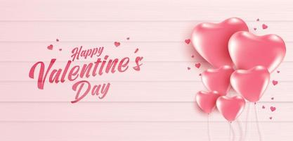 Valentine's day sale poster or banner