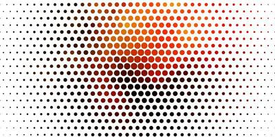 Light Orange vector layout with circle shapes.