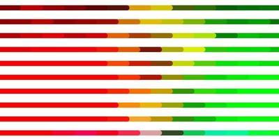 diseño de vector multicolor claro con líneas.