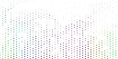 Light multicolor vector background with spots.