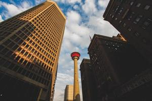 High rise buildings in Calgary