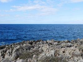 Rocks near seashore