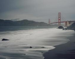 Long-exposure of the Golden Gate Bridge