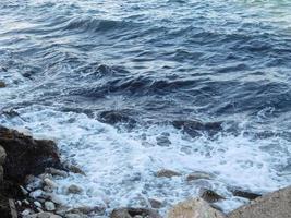 Waves on the coast