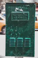 New York City, NY, 2020 - Traffic control box photo