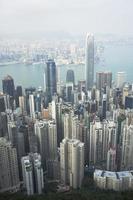 Hong Kong, 2020 - Aerial view of Hong Kong photo