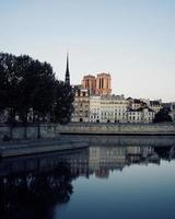 Notre-Dame, France, 2020 - Calm body of water near the city