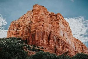 Red rocks in Sedona, AZ photo