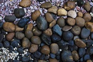 primer plano de las rocas foto