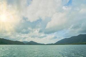 The sea at Koh Chang, Thailand photo