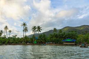 The sea at Koh Chang in Thailand photo