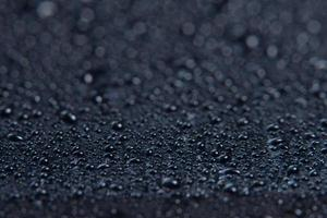 gotas de agua, fondo macro