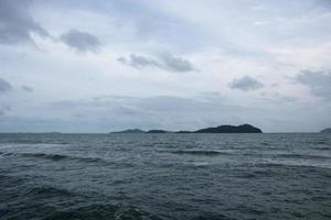 The sea at Koh Chang, Thailand
