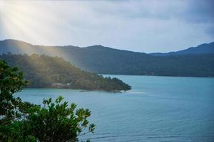 The sea at Koh Chang in Thailand