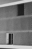 Black and white wall tiles