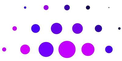 Light Purple, Pink vector background with spots.