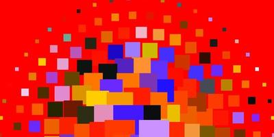 Light Multicolor vector texture in rectangular style.