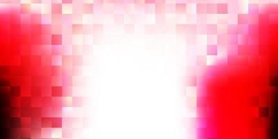 Light pink, red vector background with random forms.
