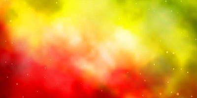 patrón de vector multicolor oscuro con estrellas abstractas.
