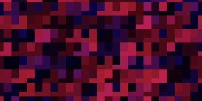 Fondo de vector violeta, rosa claro con rectángulos.