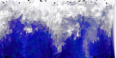 Light gray vector abstract triangle texture.