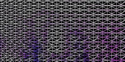 Light purple vector triangle mosaic wallpaper.