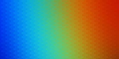 Dark Multicolor vector template in rectangles.