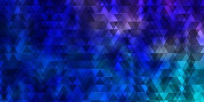 Light Pink, Blue vector template with lines, triangles.