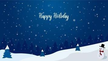 Happy Holiday Theme Background
