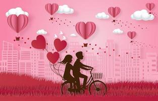 banner de celebración de feliz día de san valentín vector