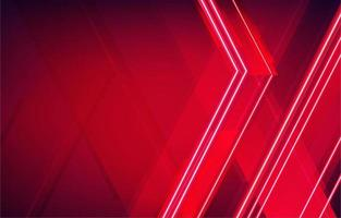 Scarlet Red Neon Background vector