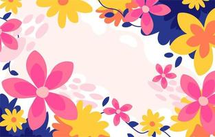 Floral Cute Soft Background vector